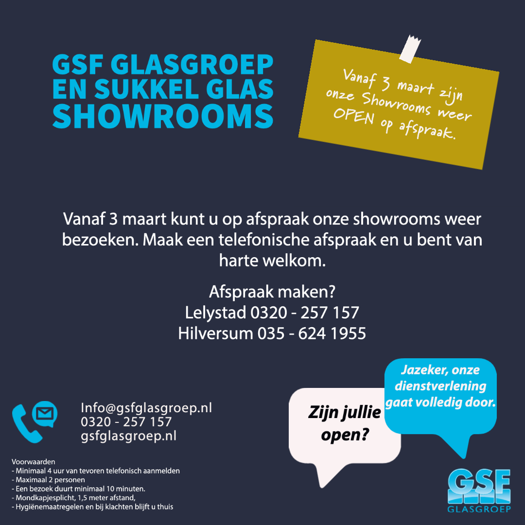 GSF - showrooms